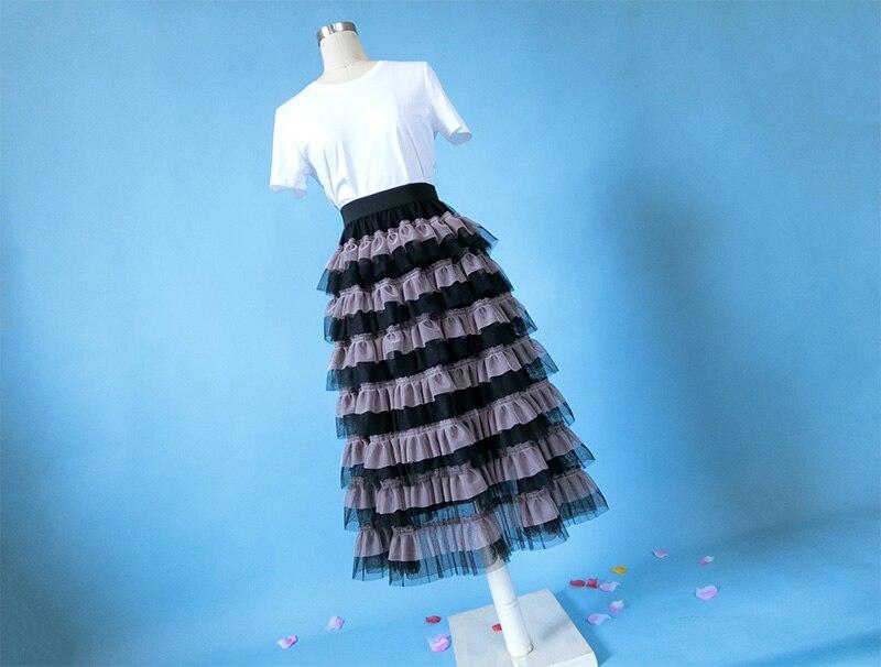 Llegada Línea Primavera calf Umbrella Pastel Mid Mujer Picture Y 3304 Otoño Dulce Nueva Vintage Falda Xhsd Hd0RqH