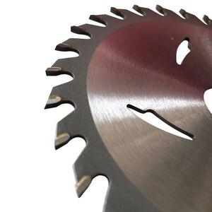 Image 5 - Hoge 1 Pc 125/110 Mm * 20 Mm 24T/30T/40T Tct Saw blade Hardmetalen Hout Slijpschijf Voor Diy & Decoratie Algemeen Hout Snijden
