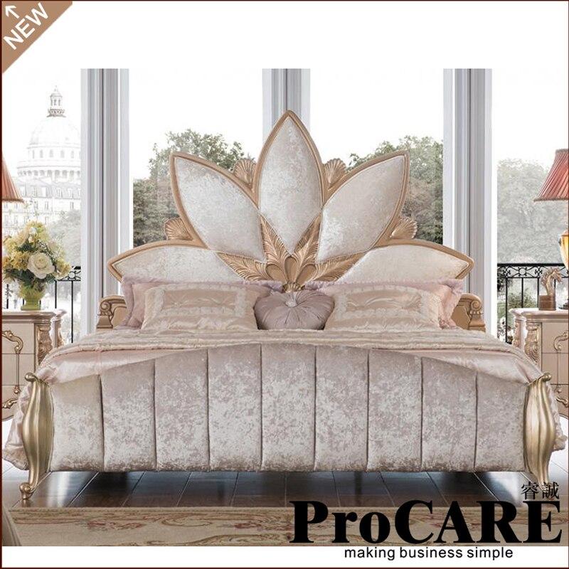 Luxus bett schlafzimmer möbel cama muebles camas modernas quarto letto yatak totoro dormitorio ranza chambre eine coucher
