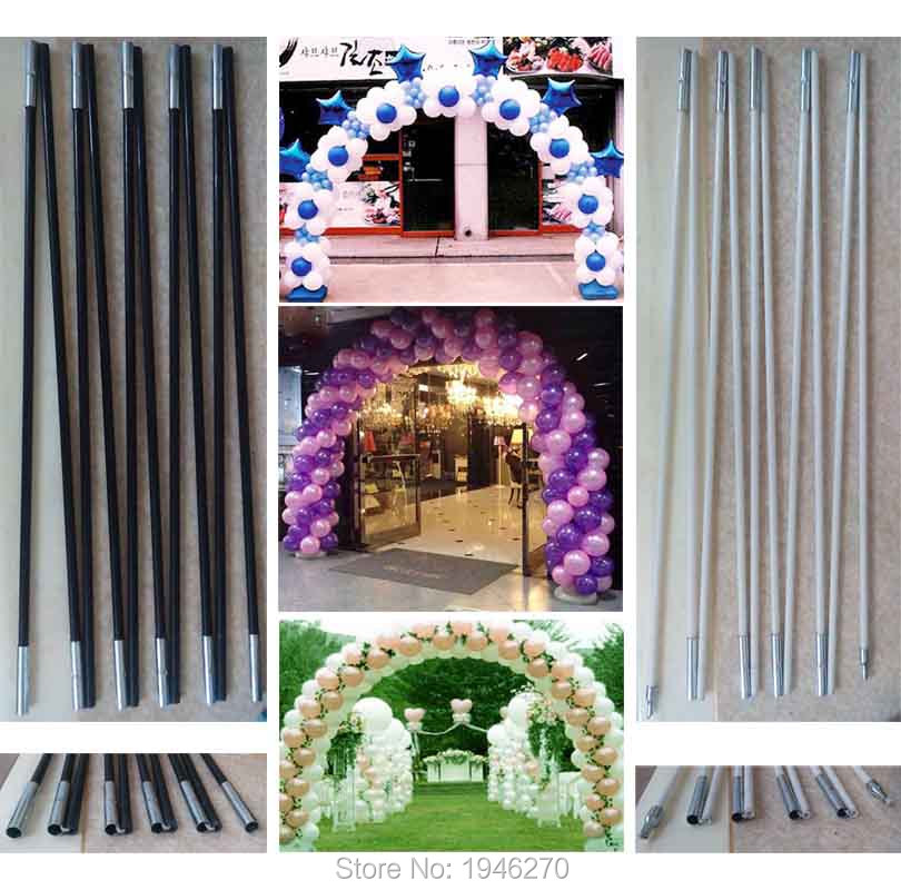 wedding decorations balloon arch stick width good quality tent poles event party supplies store door arch