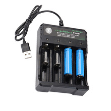 DC 4.2V/1A 18650 USB Charger 4-slot Li-ion Battery USB Charger Adapter for Battery 18350 16340 18500 26650 18650 14500 цена