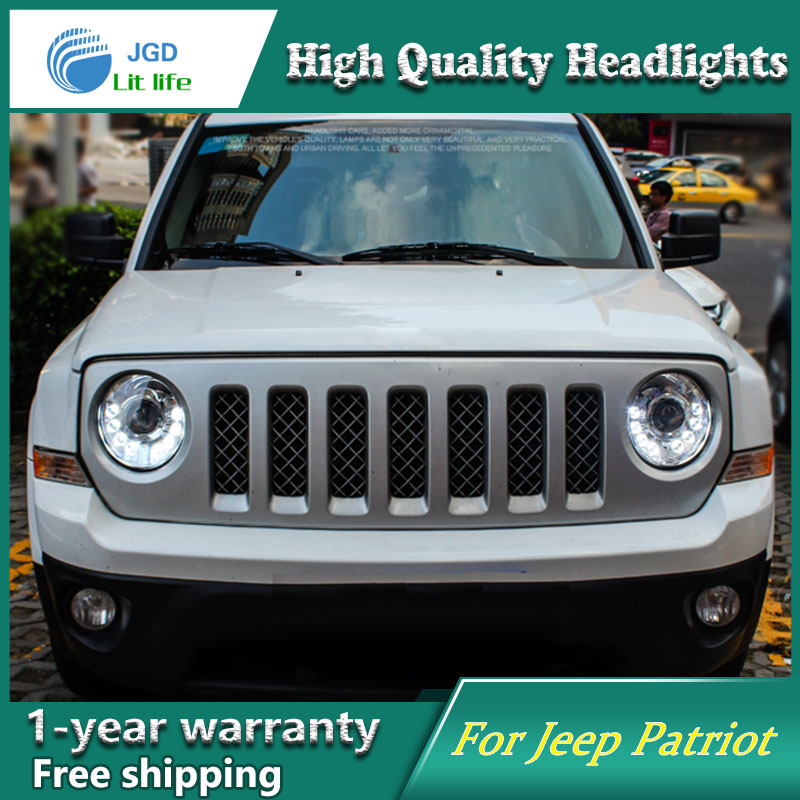 Car Styling Head Lamp Case For Jeep Patriot Headlight 2017 Sentra Led Drl H7 D2h Hid Option Bi Xenon Beam In Light Assembly From