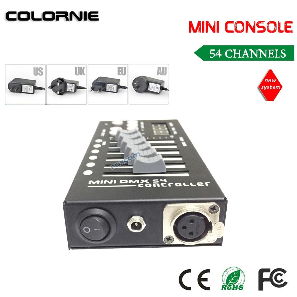Mini 54CH DMX վերահսկիչ վահանակ LED բեմի - Կոմերցիոն լուսավորություն - Լուսանկար 4