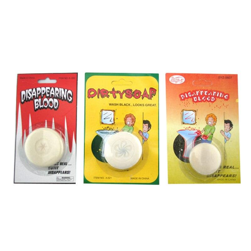 1 pièce drôle astuce blague sale savon savon de sang nouveauté jouets pour enfants cadeau
