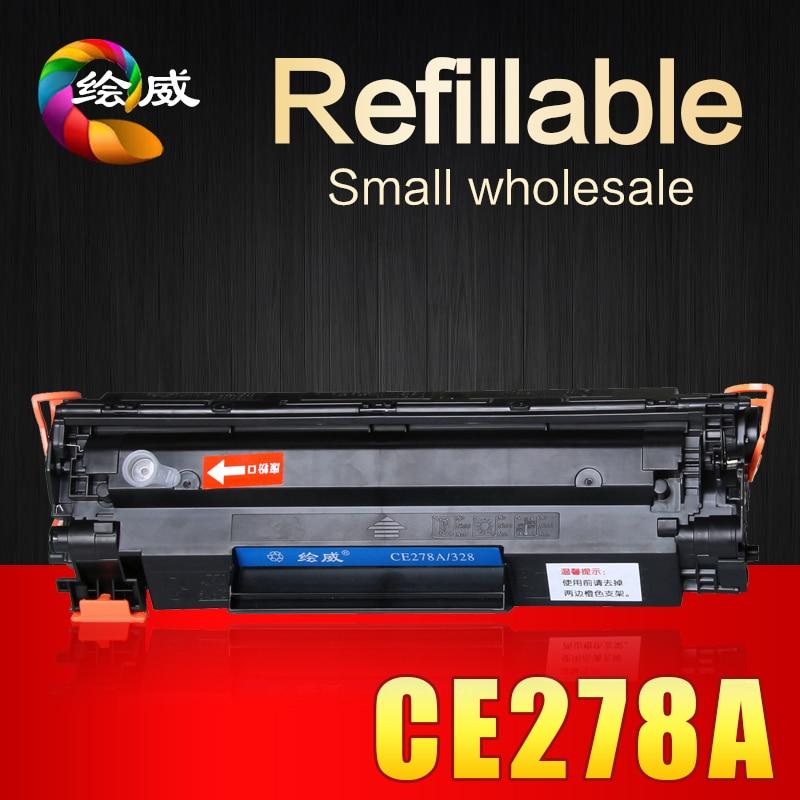 CE278A 278 278a 78a compatible toner cartridge for HP laserjet pro P1560 1566 1600 1606DN M1536DNF