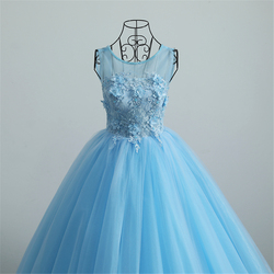 Vestido de baile organza flores rendas-up apliques flores miçangas rendas quinceanera vestidos 15 vestidos de quinceanera 2019