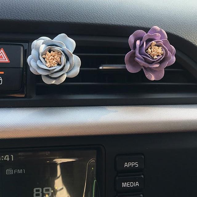 Blume Duft Auto Air Vent Parfüm Solide Fragrance Hohe Qualität 4