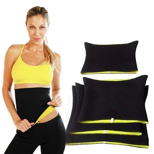 Neoprene Hot SPA Waist Trainer Corset Latex Slimming Belly Band Cincher Body Shaper Sweat Sauna Belt Women Slim Shapewear 4