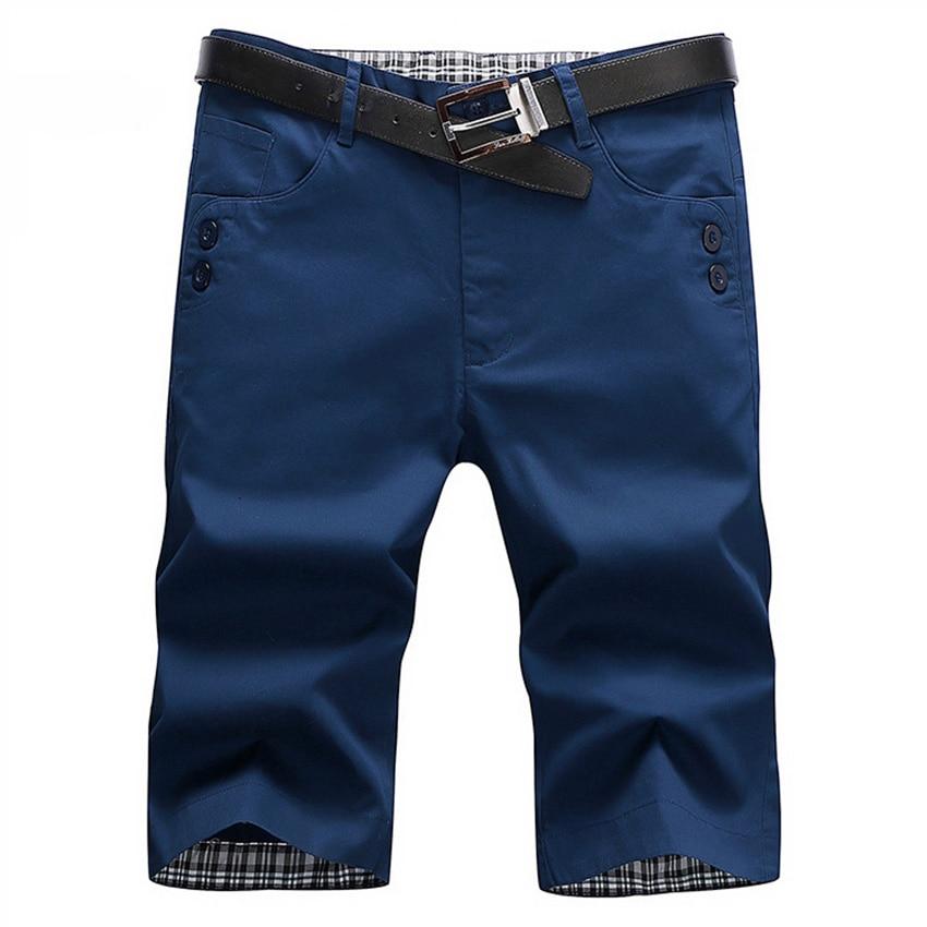 Hot Sale 2017 Fashion Mens Casual Short Brand Men Summer Cloth Cotton Short Male Army Cheap