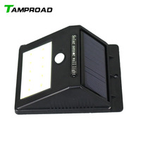 TAMPROAD Waterproof Wireless Security Motion Sensor Lamp Night Light For Outdoor Wall Porch Yard Deck Auto On / Off