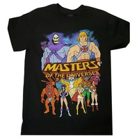 He Man Masters Of The Universe Full Cast T Shirt Men Funny Casual Streetwear Hip Hop