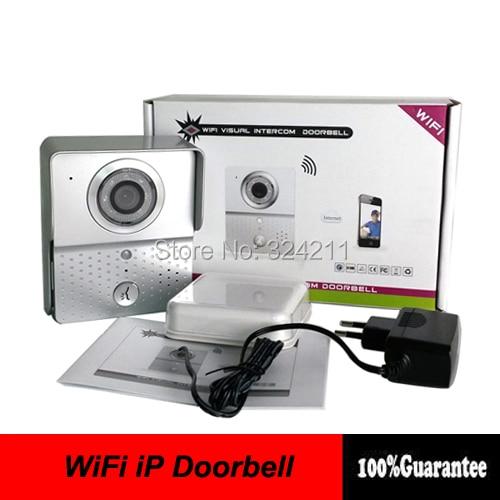 New Wifi Video Doorbell Doorphone Intercom Ip Camera Kit With
