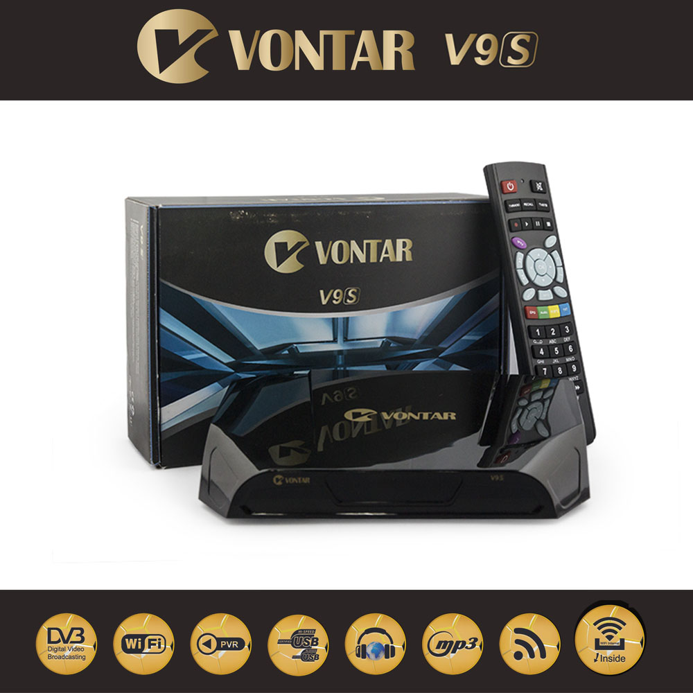 VONTAR V9S DVB-S2 HD Satellite Receiver Support DVB S2 WEB TV CCCAMD NEWCAMD IPTV BOX With IPHD Xtream Stalker youtube youporn