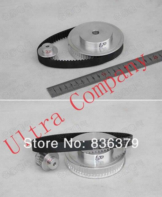 5M (3:1) Timing Belt Pulley CNC Engraving Machine Parts Big wheel
