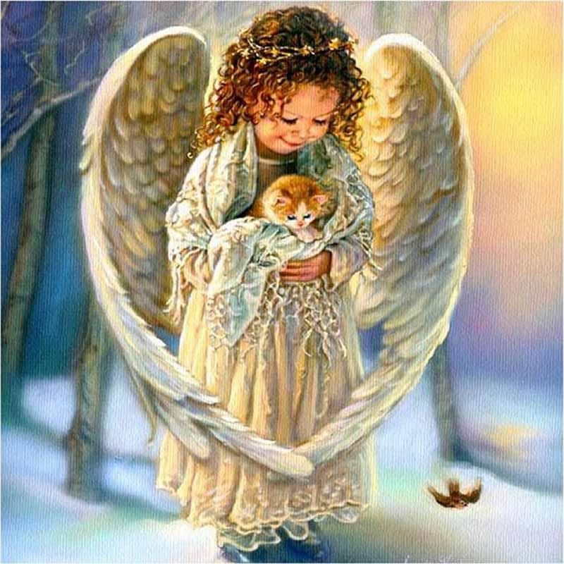 Рождественские ангелы картинки красивые