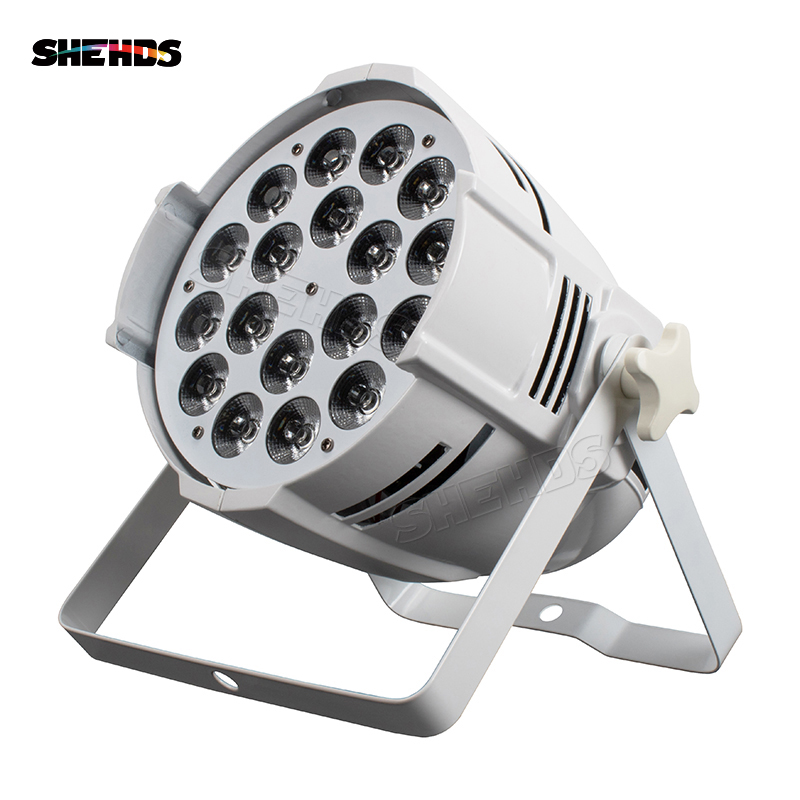 Image 5 - Aluminum Alloy LED Par 18x12W RGBW 4in1 LED Par Can Par 64 LED Spotlight Dj Projector Wash Lighting Stage Lighting-in Stage Lighting Effect from Lights & Lighting