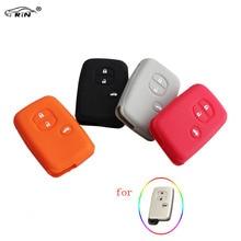 RIN Colorful Car Remote Fob Key Cover Silicone Case For Toyota Land Cruiser Prado(2010)