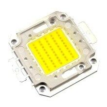 2 шт. 1 Вт 10 Вт 20 Вт 30 Вт 50 Вт 100 Вт IC SMD led Интегрированный cob чипы Высокой мощности Epistar Холодный Теплый белый Лампа свет Потока