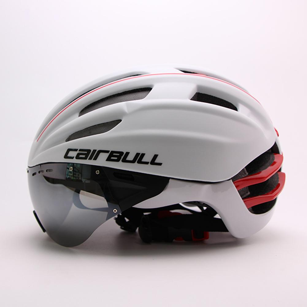 Road Bicycle Helmet Cycling Bike Sports Bike Helmets Riding Racing Time Trial Safe Removable Protection Lens