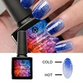 Saviland 1pcs Color Mood Changing Thermal Gel Varnish 10ml Long Lasting Temperature Chameleon Soak Off Uv Nail Gel Polish