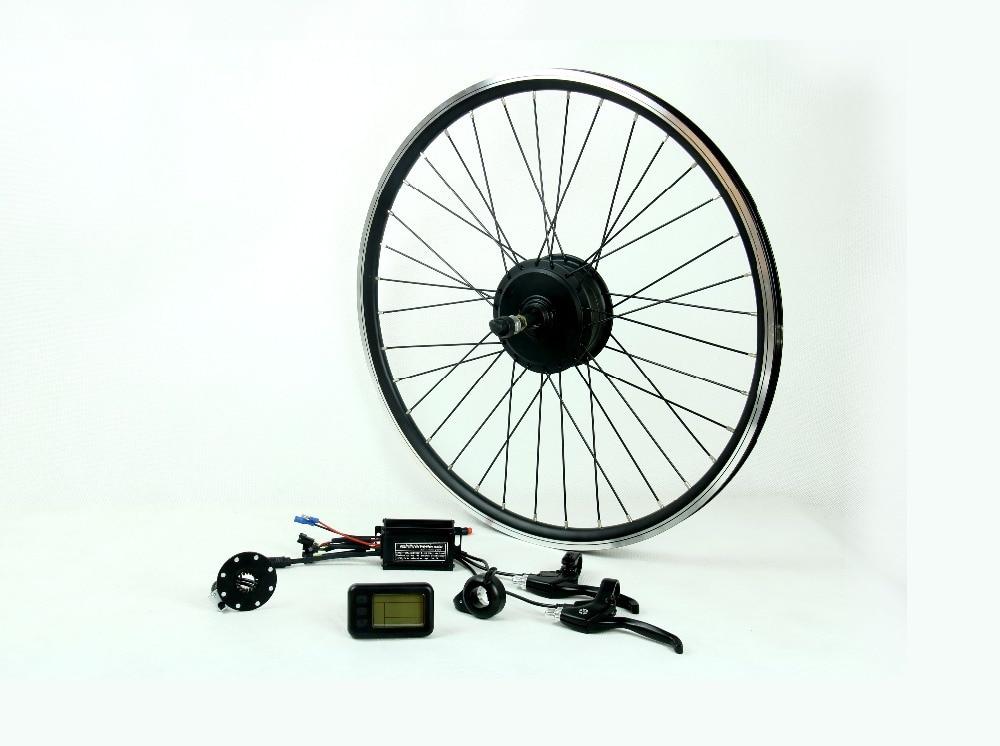 35kph 36v 48v 350w Electric Bike Conversion Kit With 2 7kg