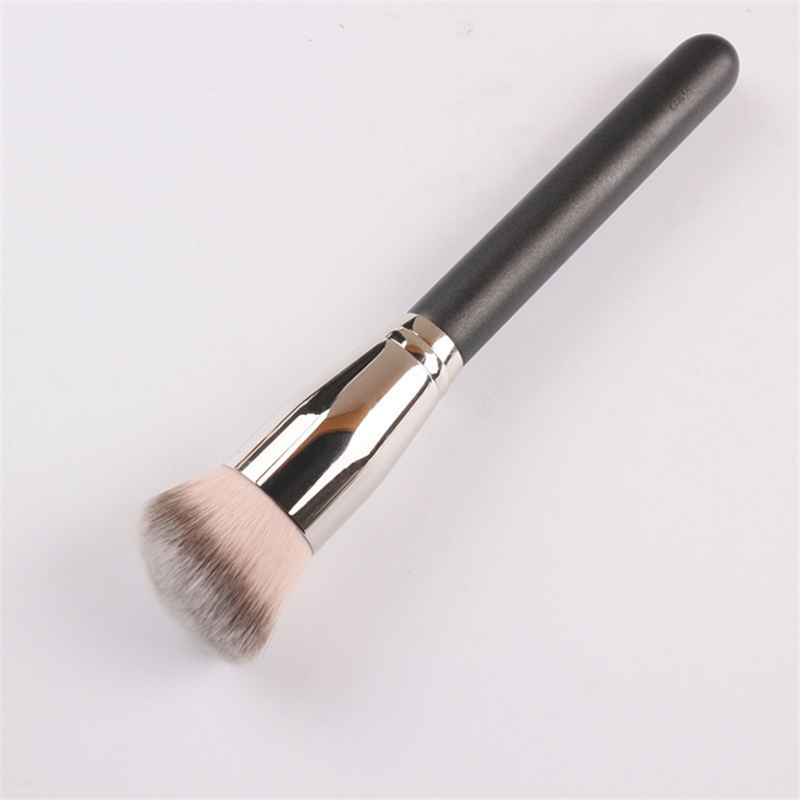 High Quality Wood Handle No.170 Angled Round Head Foundation Brush Blush Brush Contour BB Cream Make up Brush