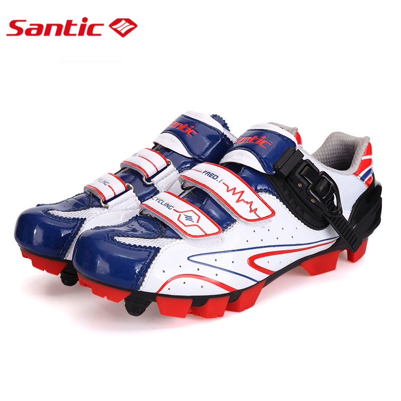 Santic MTB Cycling Shoes zapatillas ciclismo Bicycle Sports Shoes Cleated Shoes zapatos de hombre Mens Cycling Shoes S12014W puma shoes vogue leisure sports shoes zapatillas hombre deportiva