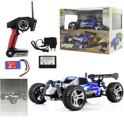 WL Toys A959 1:18 Full Proportional 2.4G Remote Control Car 4WD Off-road Vehice A959 RC Car High Speed 45KM/H Drift Bajas