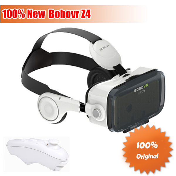 Original Bobovr Z4 Virtual Reality Glasses Bobo Z4 VR with Headphones HD Movie Games for Samsung Huawei Android 4.0-6.0''