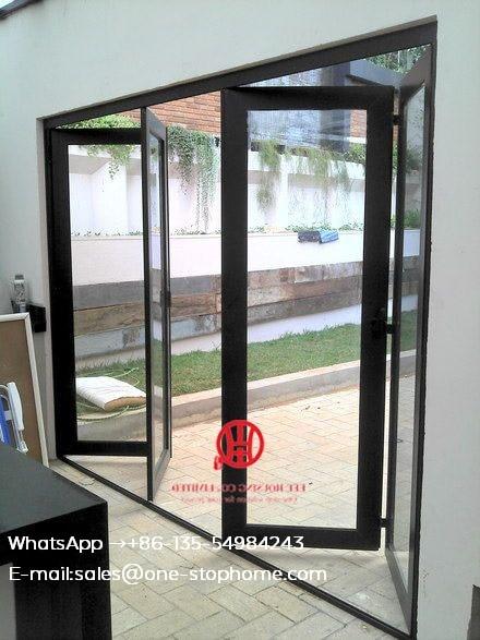 Interior Room Dividers Soundproof Insulated Glass Aluminium Bi Folding Doors Bi Fold Doors For Living Room Doors Aliexpress