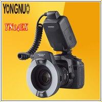 YONGNUO YN14EX TTL Radio Sync Automatic Macro Ring Lite Flash Speedlite For Canon 5d mark ii iii 7D 6d 60d 700d 650d 600d 550d