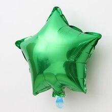 5 PCS Market hotel big 10 inch Five-pointed star Aluminum foil balloon wedding birthday party supplies air ballons D20