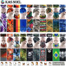Hundred Styles Unisex Riding Face Shield Outdoor Tube Scarves Seamless Headgear