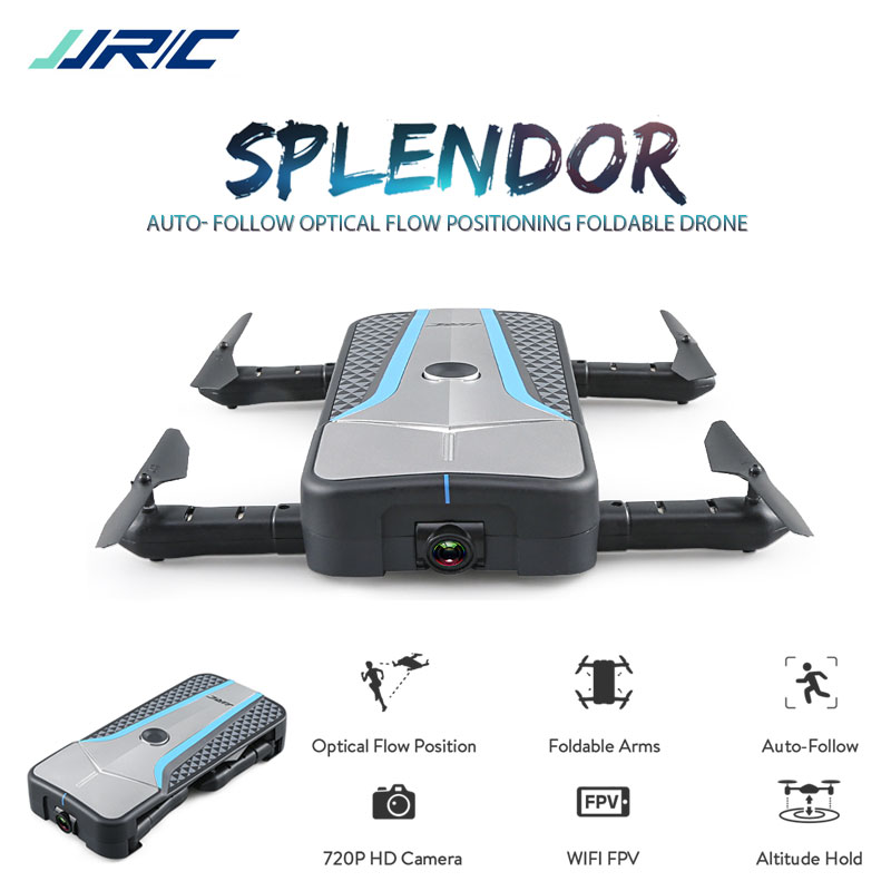 Remote Control Toys Toys & Hobbies Jjrc H61 Selfie Drone 720p Wifi Camera Foldable Arm Quadcopter Altitude Hold Optical Flow Positioning More Stable Flight Gift Selected Material