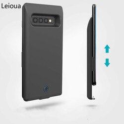 Leioua 7200 mah para samsung galaxy note 8 caso carregador de bateria externo banco de potência de backup portátil bateria caso