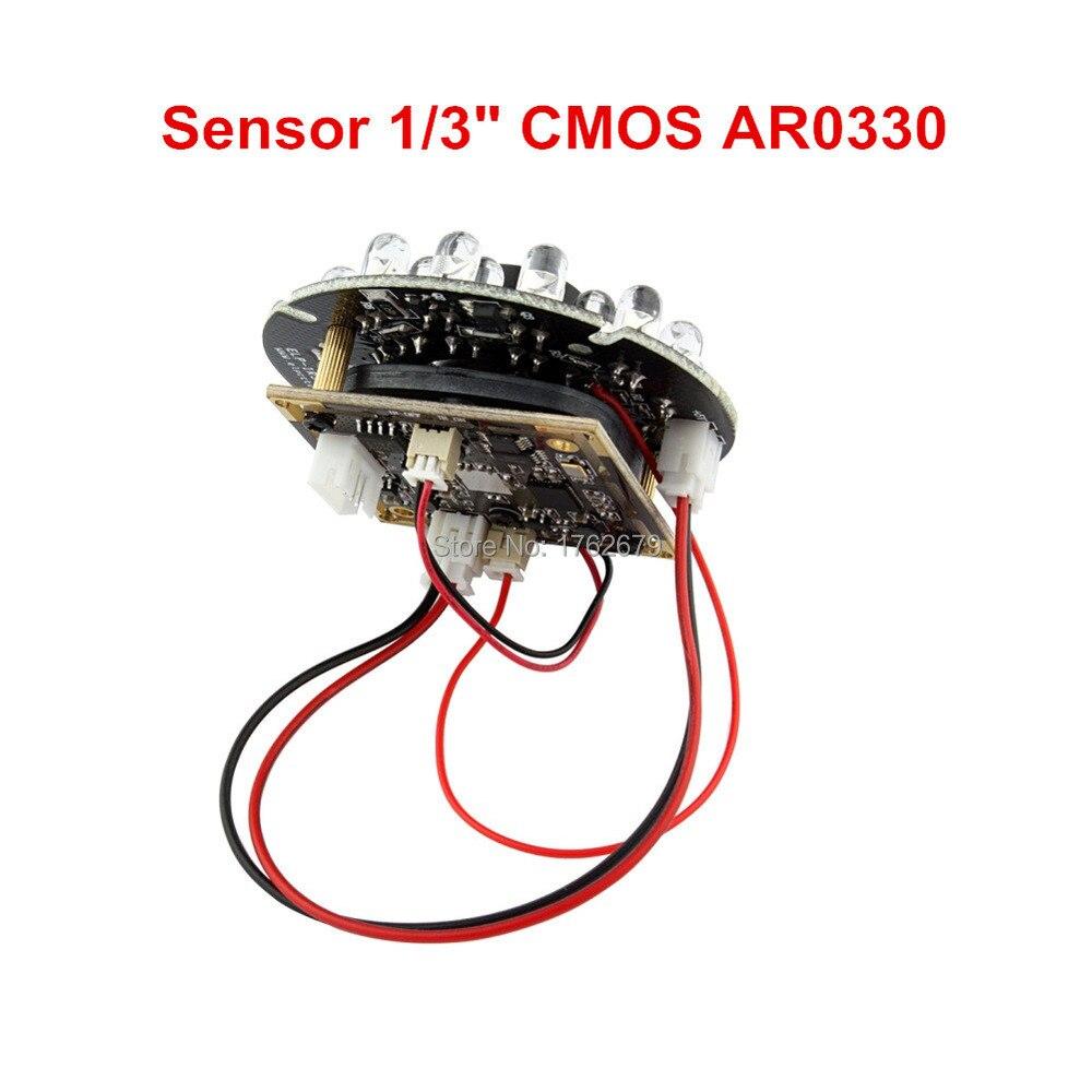 H.264 30fps 2MP 1920x1080 CMOS Aptina AR0330 day/night ir usb camera module with 24pcs IR LEDS and IR CUT