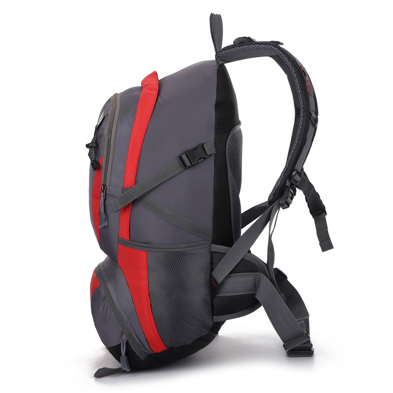 FEEL PIONEER Waterproof Nylon Backpack Men Women Sport School Back Bags Camping Hiking Pack Ski backpack rock climbing backpack