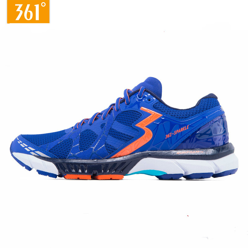 361 Men's Shoes Sports Sneakers Professional Wear-resistant Marathons Running Shoes Wearresistant Running Shoes