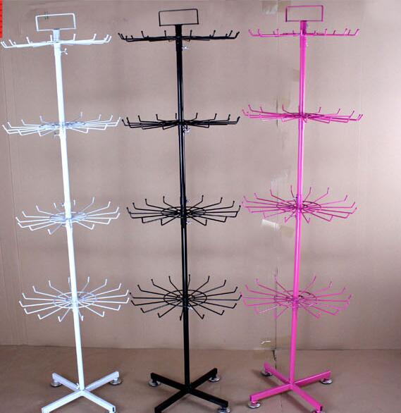 Following From The Rack. Wrought Iron Socks Display Shelf. Jewelry Shelves. The Floor Can Rotate.