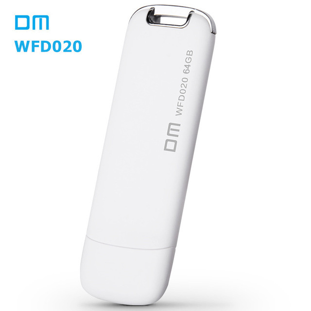 DM WFD020 Wireless USB Flash Drives 64GB WIFI For iPhone / Android / PC Smart Pen Drive Memory Usb Stick Multiplayer With Share