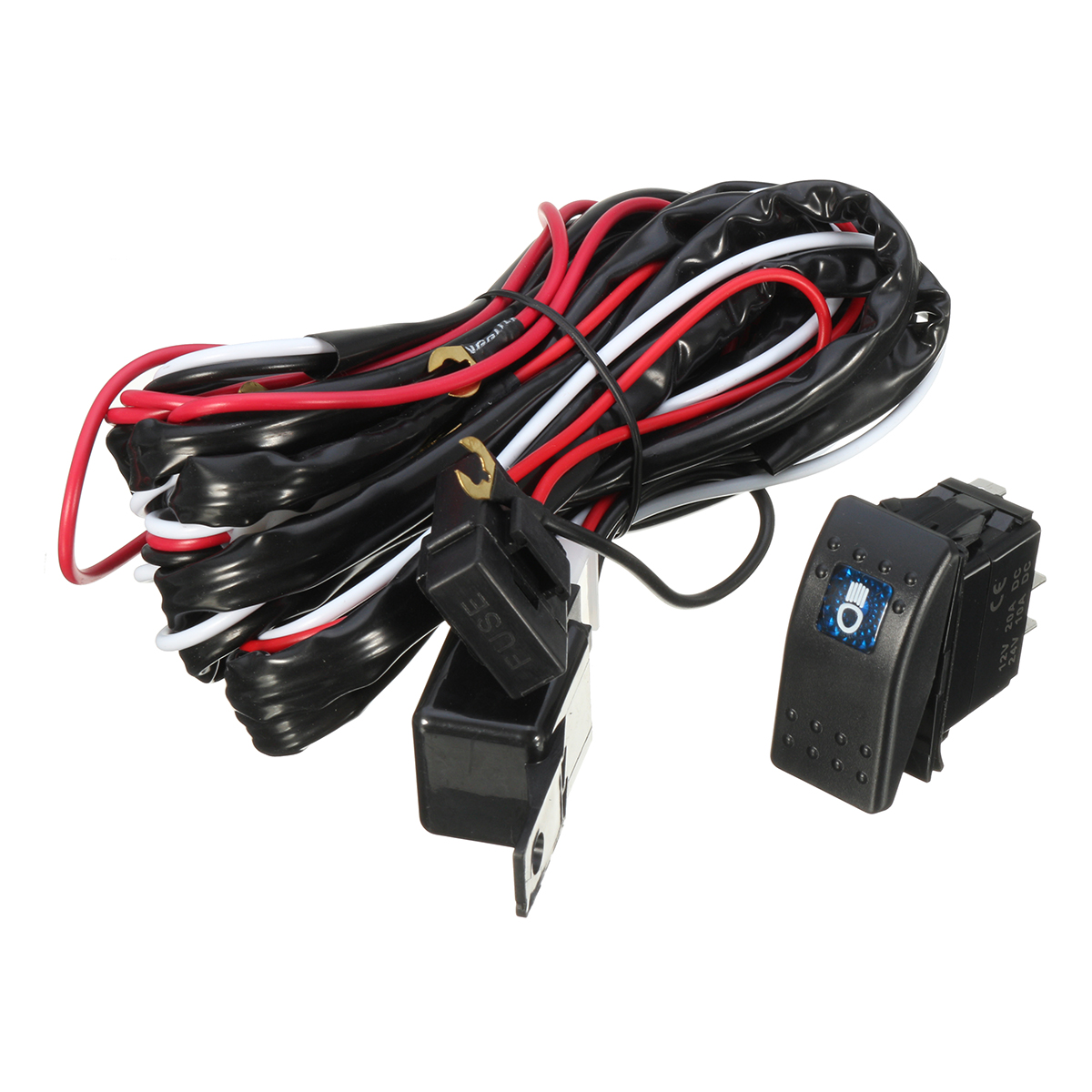 Universal 12v 40a Wiring Harness Led Spot Work Driving