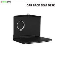 E FOUR Car Back Seat Laptop Desk ABS 2018 Brand New Food Tray Table Pallet Drink Cup Holder with Multi function Organizer Phone