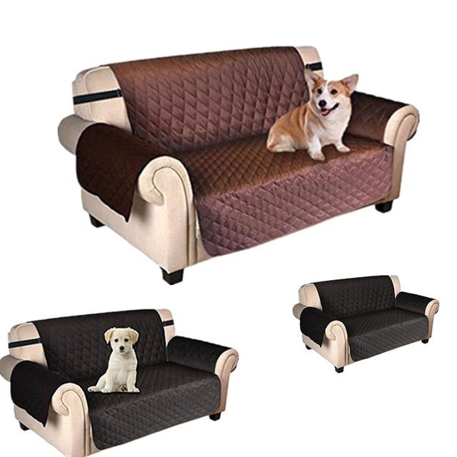 Cubierta De Sofa Para Perros Protector Impermeable Estirar Sofa