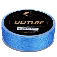 Goture 4 Weaves Good Quality PE Fishing line Braided Fishing Line Fishing Line Green For Rock Sea Fishing