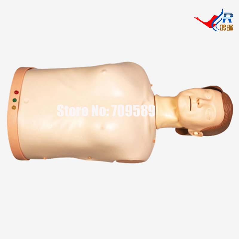 Advanced Half-body CPR Training Manikin, CPR Manikin advanced full function nursing training manikin with blood pressure measure bix h2400 wbw025