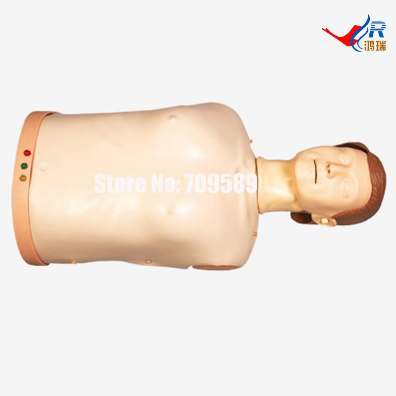 Advanced Half-body CPR Training Manikin, CPR Manikin bix h2400 advanced full function nursing training manikin with blood pressure measure w194