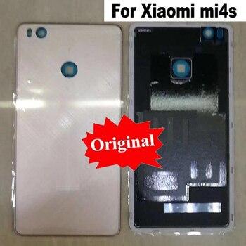 LTPro Original Quality Mi4S Back Rear Battery Cover case Housing Door For Xiaomi Mi 4S M4S cellphone replacement part
