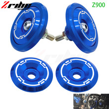 Motorcycle Accessories CNC Aluminum Frame Hole Cover Frame Hole Cap Cover Plug Bolt Screw Cover For Kawasaki z900 z 900 2017 цены