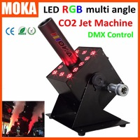 1 шт./лот DMX CO2 ткацкий станок rgb крио CO2 пушечное орудие светодиодная колонна инструмент клапан Jet Blaster дымовая машина