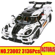 3136Pcs 23002 Lepin Technic Figes Race Car Модельные наборы Строительные блоки Кирпичи Комплекты Игрушки для детей Подарок, совместимый с 42056